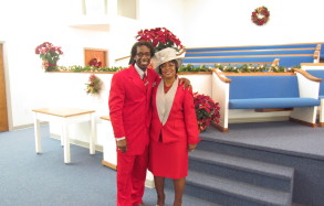Pastor and Mrs. Person