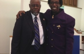 Pastor Person and Rev. Albert Haddon