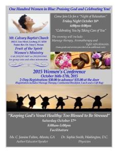 Women's Conference Flyer v2